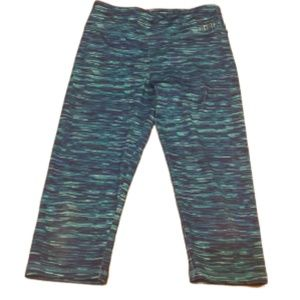 Justice Active Space Dye Athletic Capri's Girls 14
